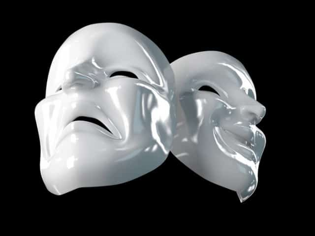 Theater Masks - Fantasty/Reality duality