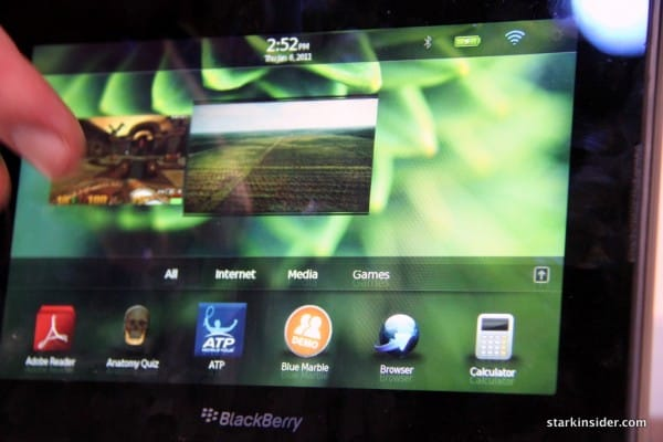 Along with Moto Xoom, the PlayBook was a crowd pleaser at CES in January.