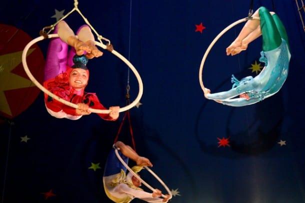 Director Signe Taylor profiles Circus Smirkus in CIRCUS DREAMS. Courtesy of Signe Taylor.