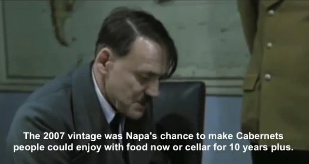 Hitler Reacts to Robert Parker