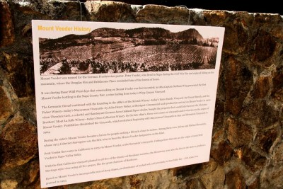 History of Mount Veeder
