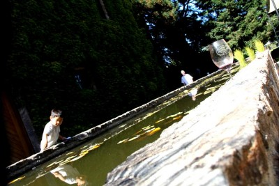 Long pond at Hess