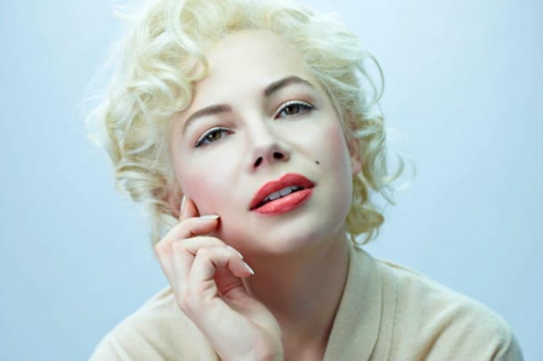 Michelle Williams as Hollywood icon Marilyn Monroe in Simon Curtis' MY WEEK WITH MARILYN. Courtesy of The Weinstein Company.