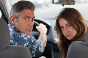The Descendants starring George Clooney