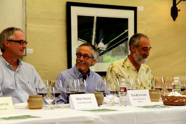 Tor Kenward at To Kalon panel at Robert Mondavi Winery