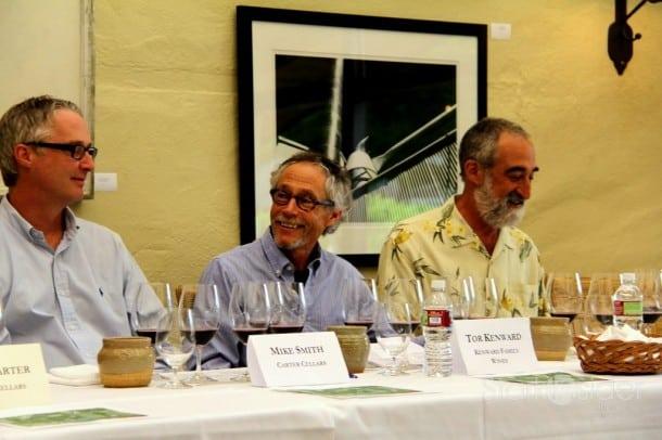 Tor Kenward at To Kalon panel at Robert Mondavi Winery