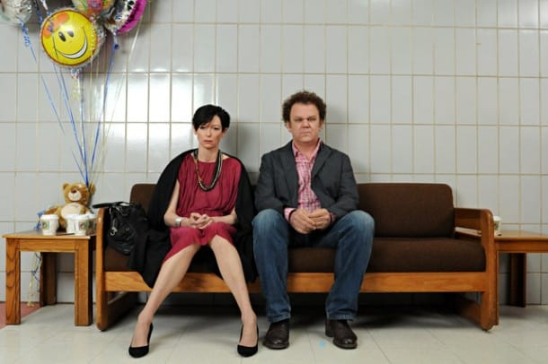 """The unofficial """"Kevin"""" theme for MVFF34 strikes again. Tilda Swinton, John C. Reilly, Ezra Miller, Ashley Gerasimovich star in WE NEED TO TALK ABOUT KEVIN. Courtesy of Oscilloscope Laboratories."""