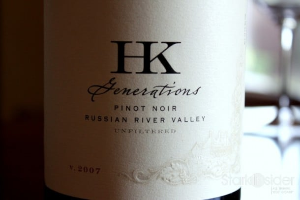 2007 HK Generations Pinot Noir - Russian River Valley