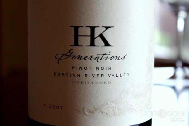 2007 HK Generations Pinot Noir - Russian River Valley