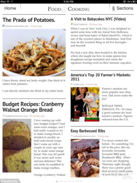 News App Round-Up: Zite for iPad (review) | Stark Insider