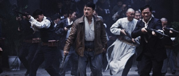 Jackie Chan as Huang Xing, a Chinese revolutionary leader, in a scene from 1911