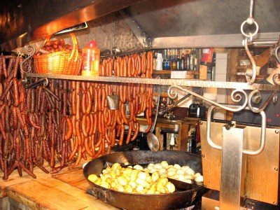 Typical Zakopane restaurant