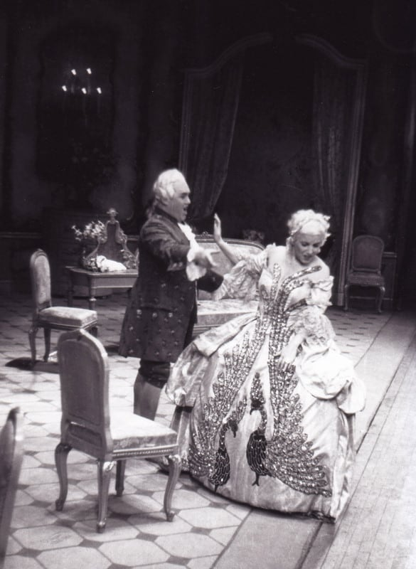 Manon Lescaut 1949 Jussi Björling as Chevalier des Grieux and Licia Albanese as Manon Lescaut at San Francisco Opera.