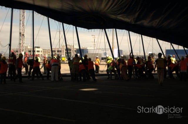 Cirque du Soleil: Raising the Grand Chapiteau in San Francisco