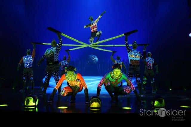 TOTEM by Cirque du Soleil - opens San Francisco October 28, 2011