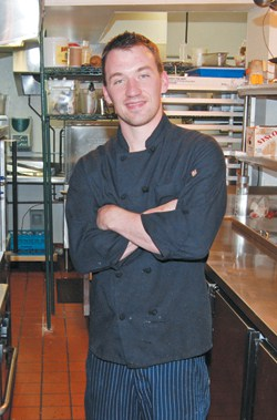 You'll be hearing more about Chef Stan Chamberlain