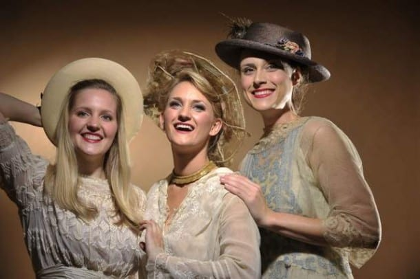Three Sisters:  Mary (Riley Krull), Dorrie (Brittany Danielle) and Tiny (Kate Paul).