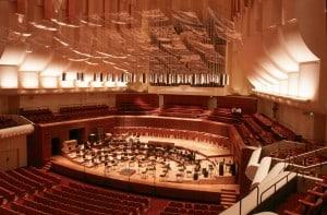 Davies Symphony Hall interior San Francisco