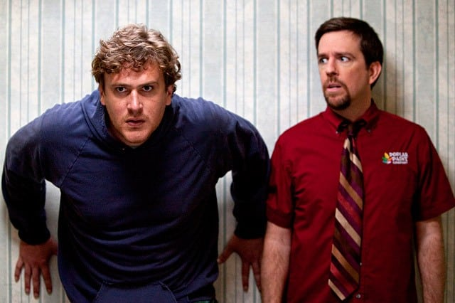 Jason Segel and Ed Helms star in Jeff Who Lives at Home - I saw the screening at Dolby in SF last month and thought it was a hoot.