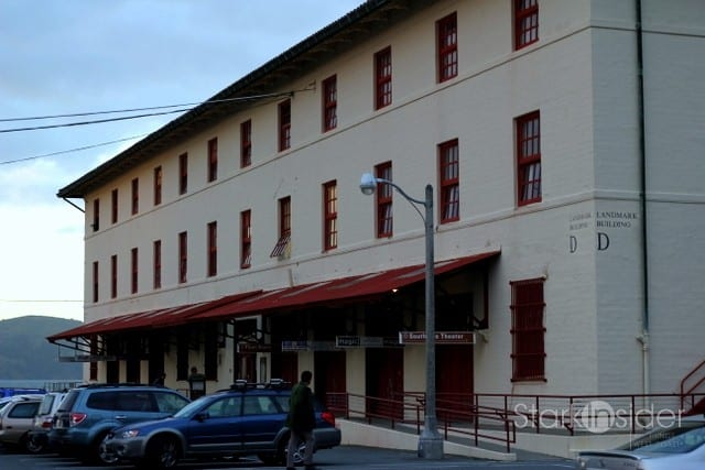 Magic Theater is located at the Fort Mason center in San Francisco