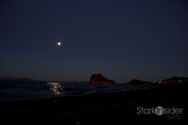 Moon over Loreto