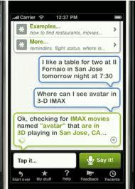 Siri on Apple iPhone 4s