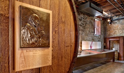 The Vintners Hall of Fame is located at the Culinary Institute at Greystone in Napa.