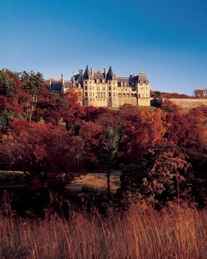 Biltmore Estate in Fall Colors
