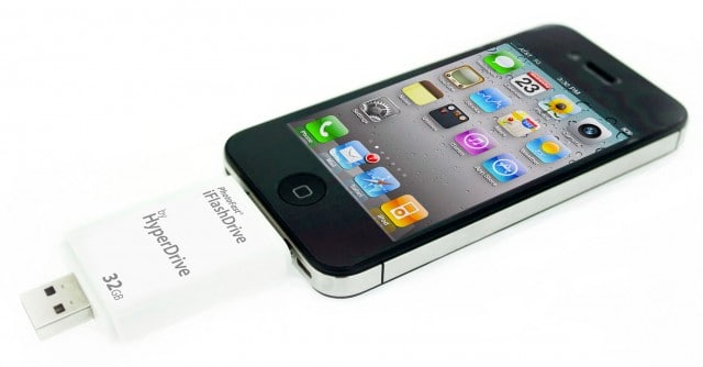 iFlashDrive iPhone4