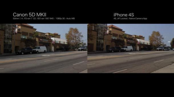 iPhone 4S vs Canon 5D Mark IV