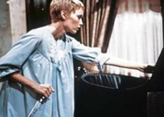 Mother knows best: Mia Farrow sporting Vidal Sassoon and Wusthof