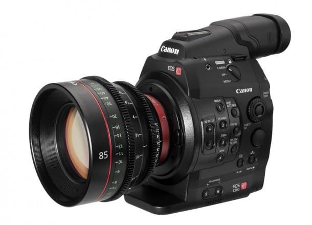 Canon EOS 300 with EOS Cinema