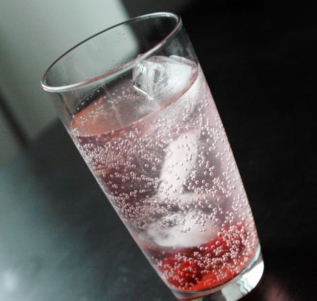 Cranberry Sauce Cooler