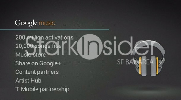 Google Music Summary