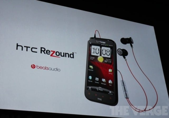HTC Rezound on Verizon