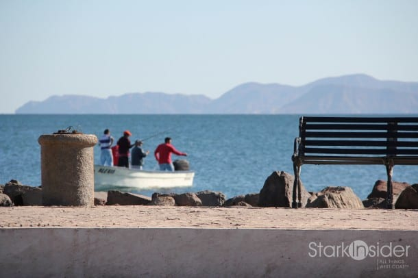 Malecon, Loreto, Baja California Sur