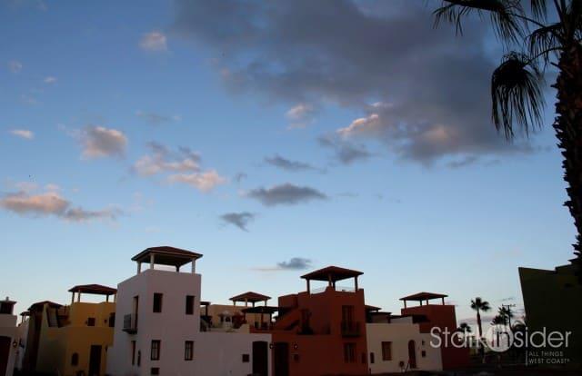 Skies clearing in Loreto Bay