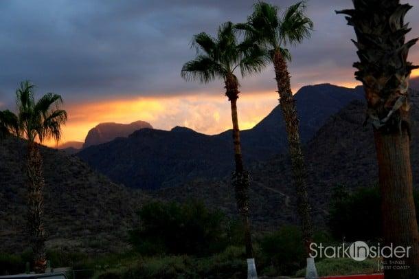 Sierra de la Giganta: Fire in the Sky