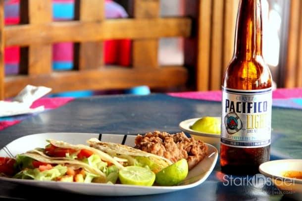 Tacos pescados. Life is good.