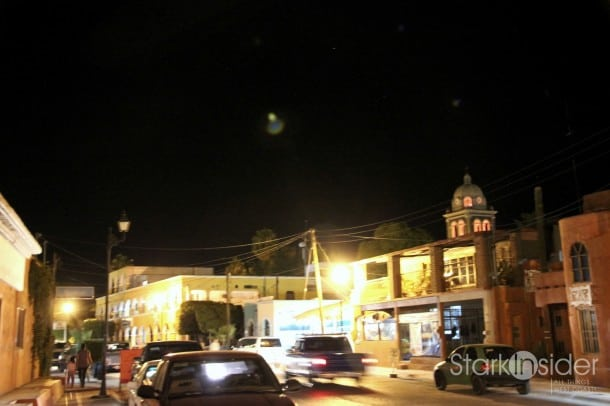 View down Hidalgo, downtown.