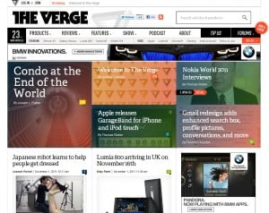 The Verge launches