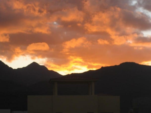 Sunset Sierra de la Giganta