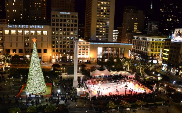 Holiday Ice Rink at Union Square
