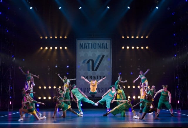 Bring it On The Musical now playing the Orpheum in San Francisco