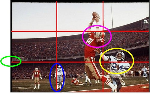 Dwight Clark - The Catch- Famous photo analyzed