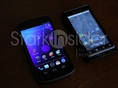 Samsung Galaxy Nexus and Motorola Droid