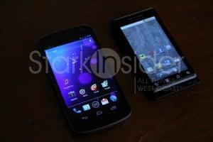 Galaxy Nexus vs. Motorola Droid