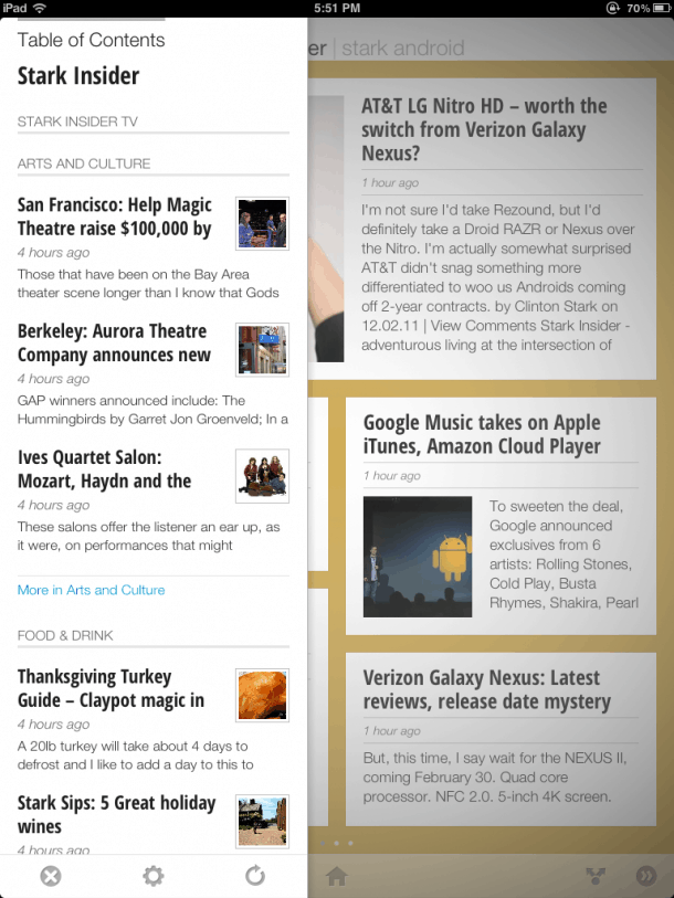 Stark Insider on Google Currents