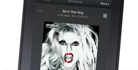 Amazon Kindle Fire - Lady Gaga