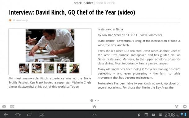 David Kinch Interview on Stark Insider